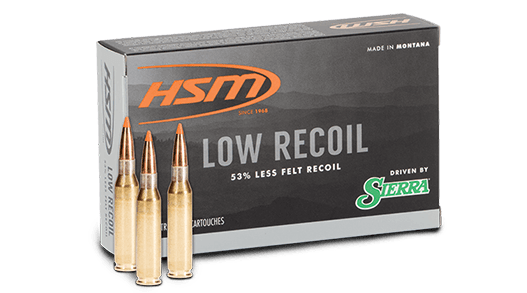 Low Recoil box with three cartridges