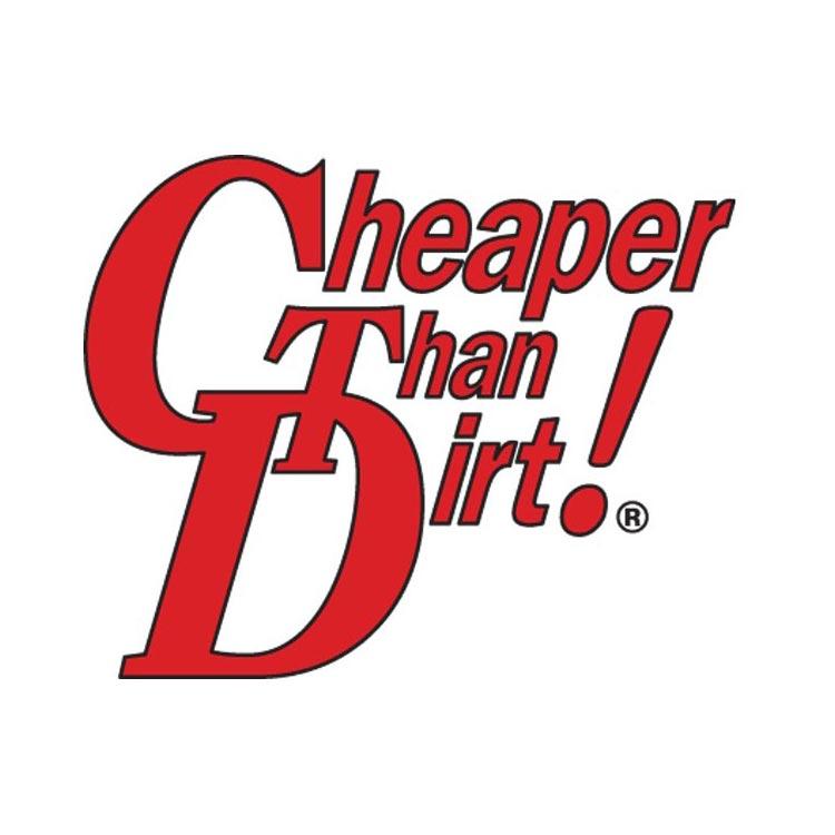 Cheaper Than Dirt logo