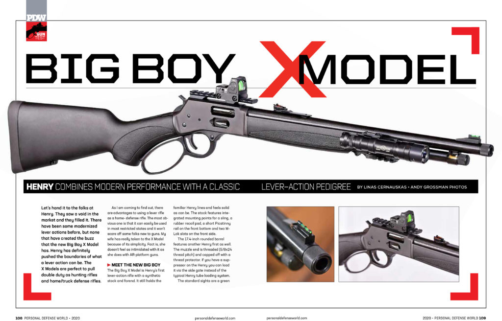 Article Personal Defense World